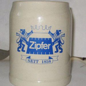 stein zipfer seit 1858 beer vintage austria brew